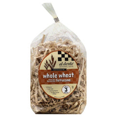 Al Dente Fettuccine Whole Wheat Blend, 12 Oz (Pack of 6)