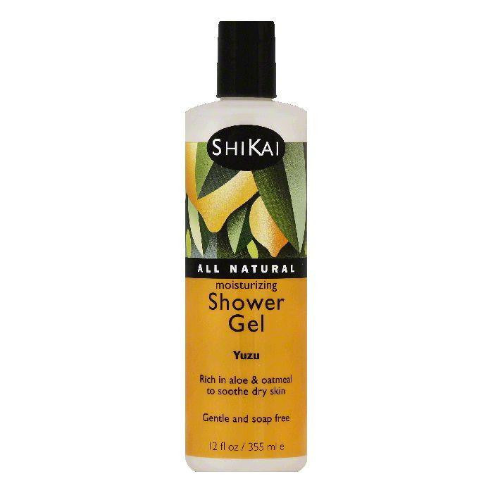 ShiKai Yuzu Moisturizing Shower Gel, 12 OZ (Pack of 3)