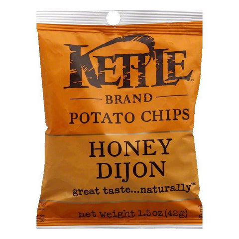 Kettle Brand Honey Dijon Potato Chips, 1.5 OZ (Pack of 24)