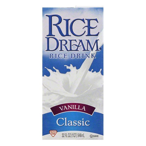 Rice Dream Vanilla, 32 FO (Pack of 12)