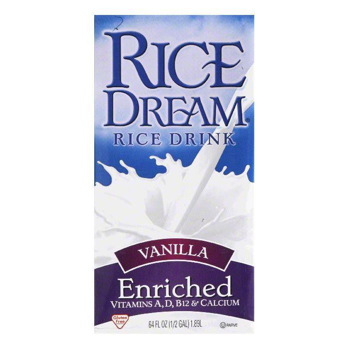 Rice Dream Vanilla Enriched, 64 FO (Pack of 8)