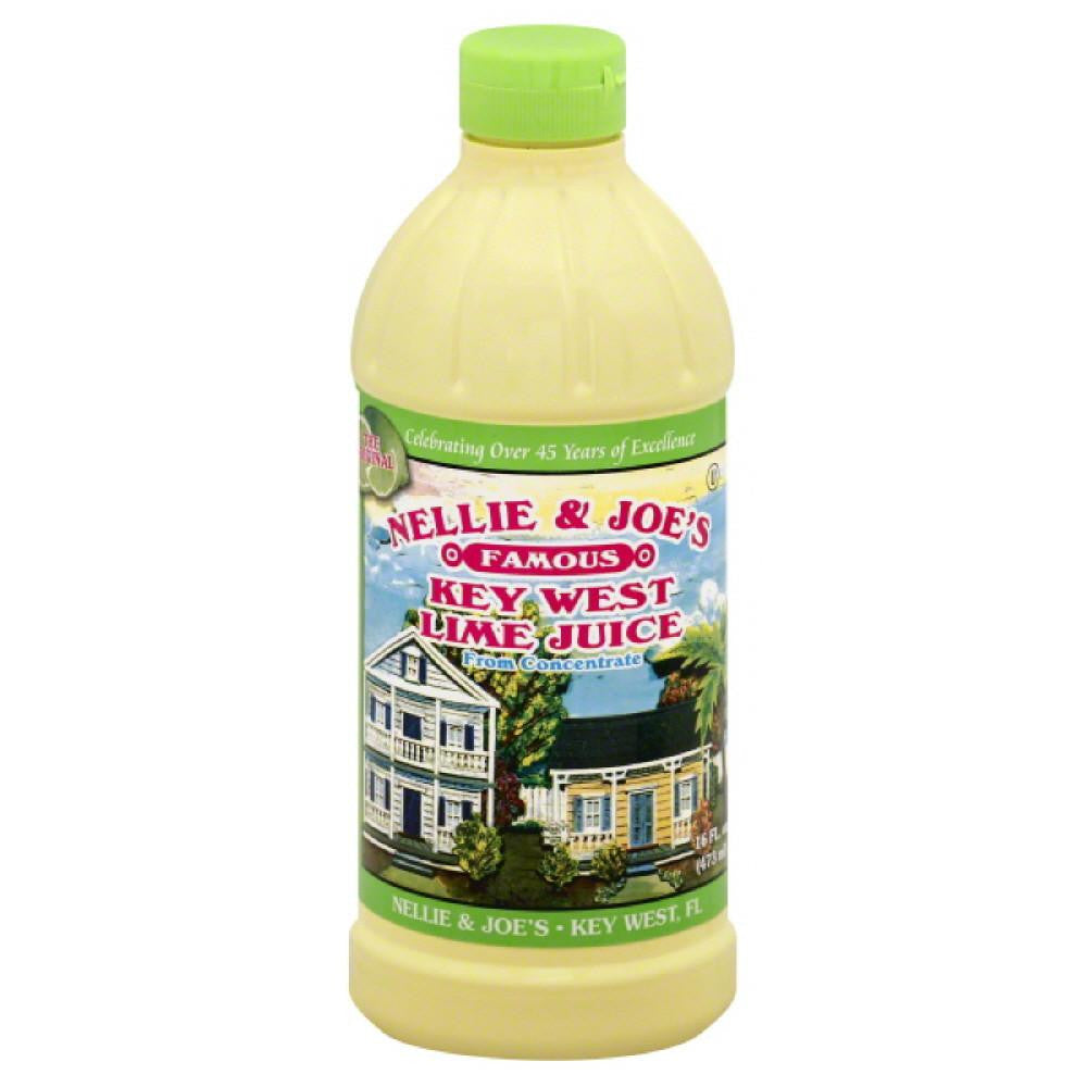 Nellie & Joes Key West Lime Juice, 16 Fo (Pack of 12)