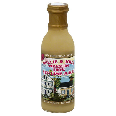 Nellie & Joes Key Lime Juice, 12 Fo (Pack of 12)
