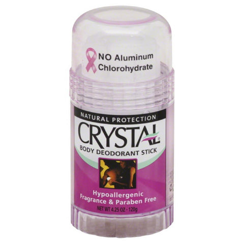 Crystal Fragrance Free Body Deodorant Stick, 4.25 Oz