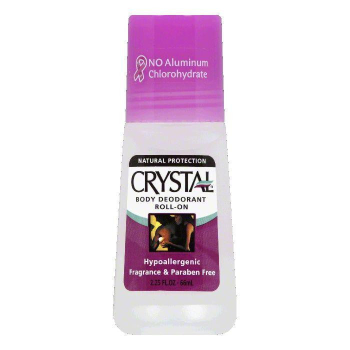 Crystal Body Roll On Deoderant, 2.25 OZ (Pack of 3)