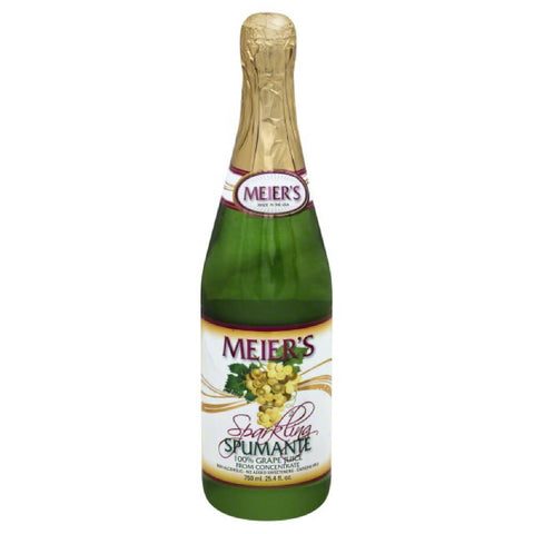 Meiers Spumante Sparkling Grape 100% Juice, 25.4 Fo (Pack of 12)
