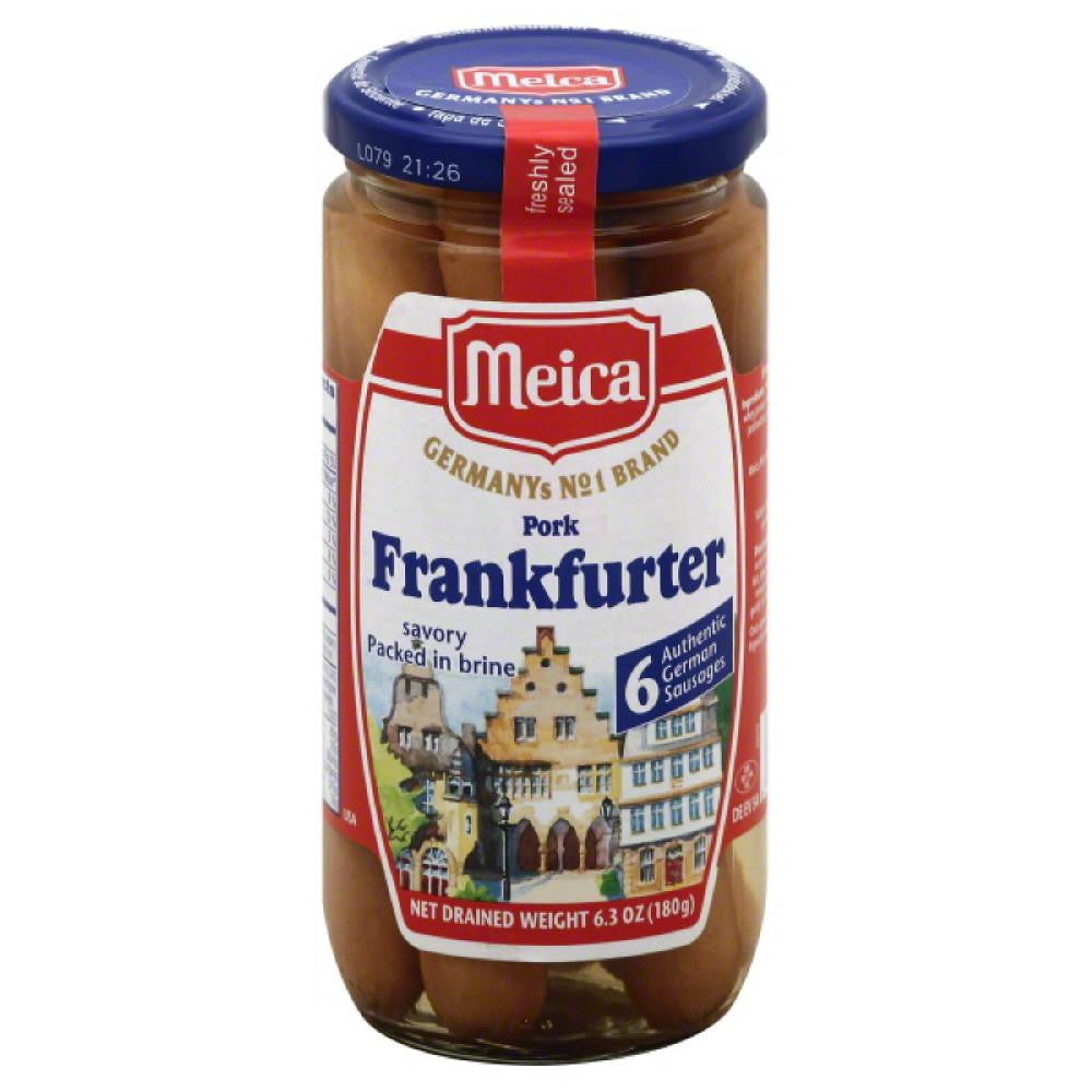 Meica Packed in Brine Savory Pork Frankfurter, 6.3 Oz (Pack of 12)