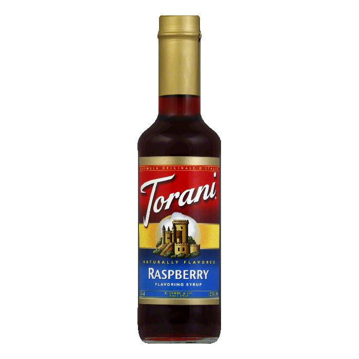 Torani Syrup Raspberry, 12.7 FO (Pack of 4)