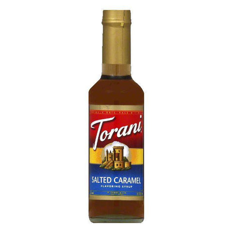 Torani Syrup Salted Caramel, 12.7 FO (Pack of 4)