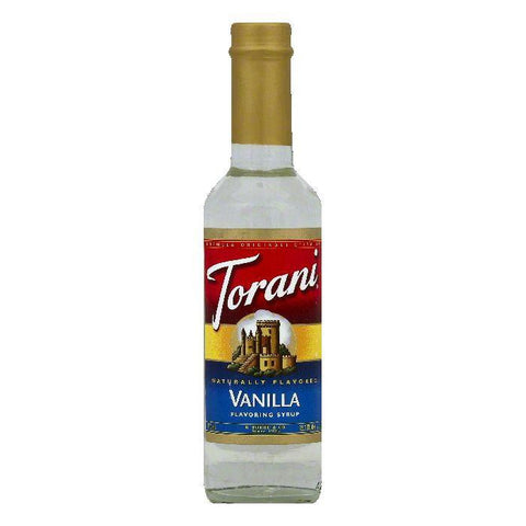Torani Vanilla Flavoring Syrup, 12.7 OZ (Pack of 4)