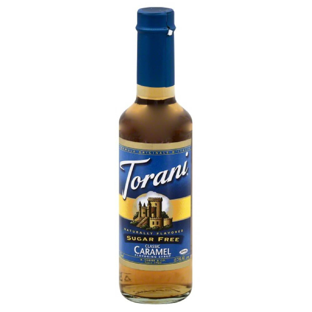 Torani Sugar Free Classic Caramel Flavoring Syrup, 12.7 Fo (Pack of 4)