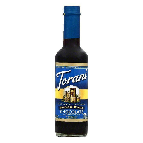 Torani Sugar Free Chocolate Flavoring Syrup, 12.7 OZ (Pack of 4)