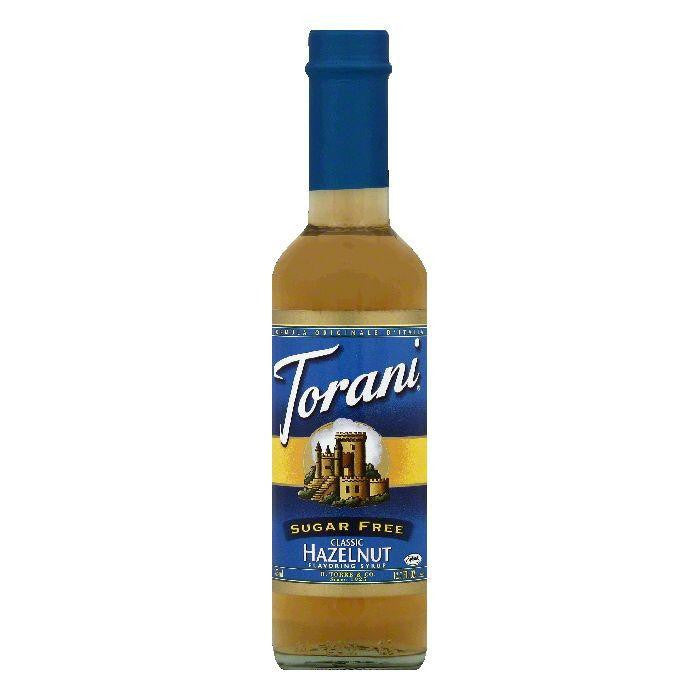 Torani Sugar Free Classic Hazelnut Flavoring Syrup, 12.7 OZ (Pack of 6)