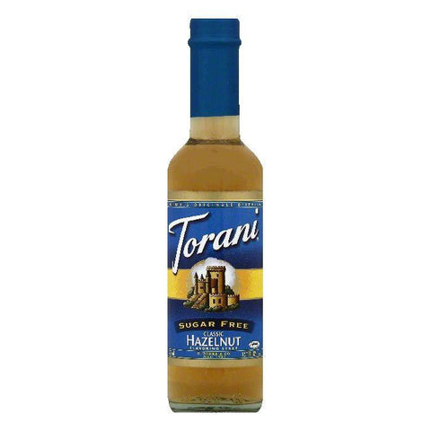 Torani Sugar Free Classic Hazelnut Flavoring Syrup, 12.7 OZ (Pack of 4)