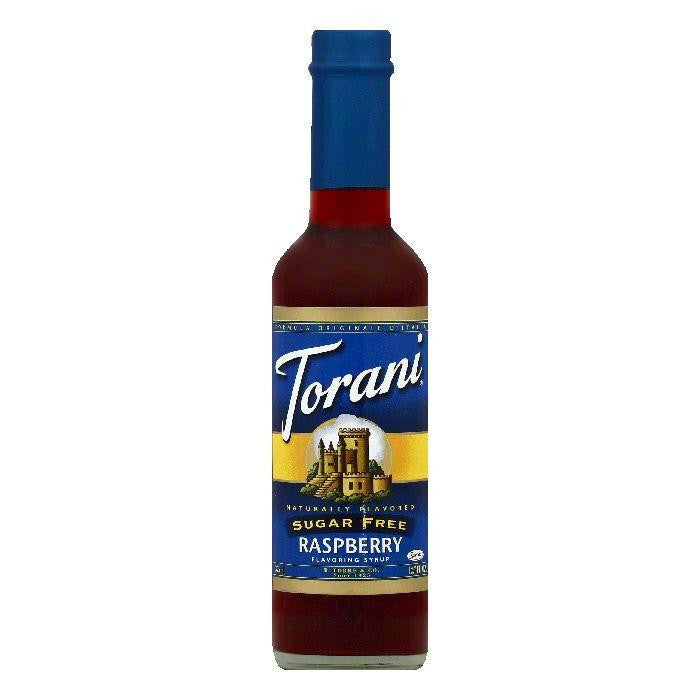 Torani Sugar Free Raspberry Flavoring Syrup, 12.7 OZ (Pack of 6)