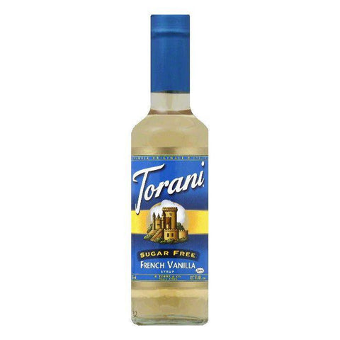 Torani Syrup Sugarfree French Vanilla, 12.7 FO (Pack of 4)