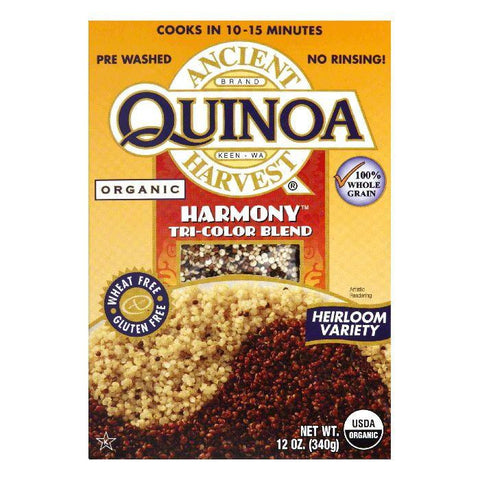 Ancient Harvest Gluten Free Quinoa Harmony Organic, 12 OZ (Pack of 12)