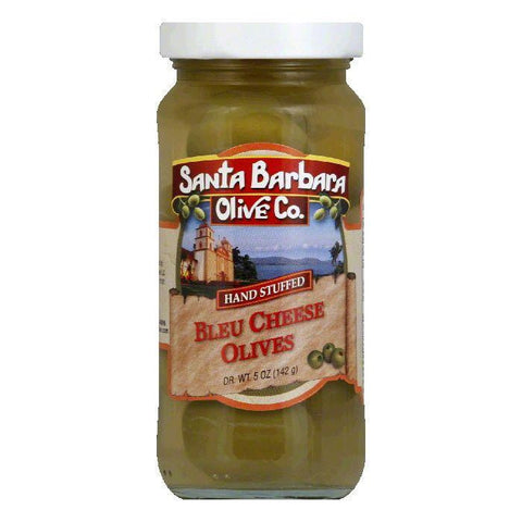 Santa Barbara Olives Stuffed Bleu Cheese, 5 OZ (Pack of 6)
