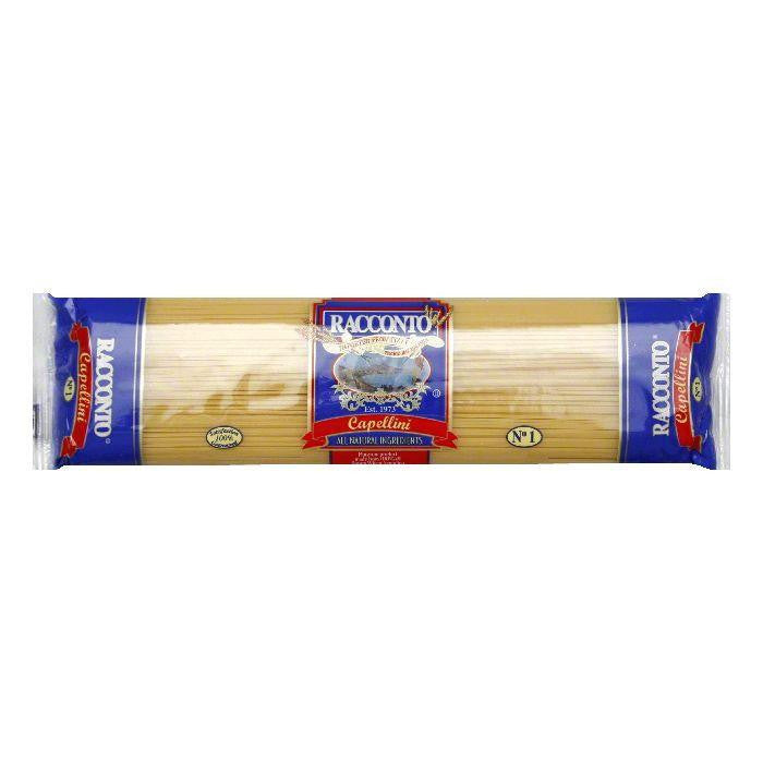Racconto Capellini Angel Hair Pasta, 16 OZ (Pack of 20)