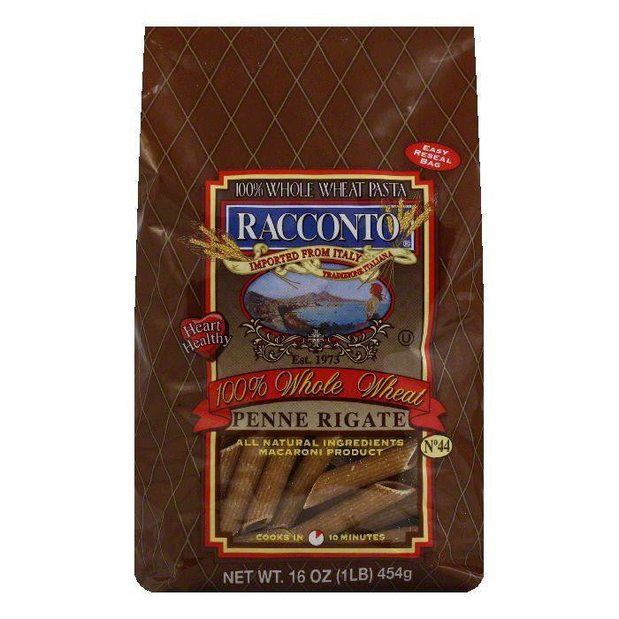 Racconto Penne Rigate Whole Wheat, 16 OZ (Pack of 12)