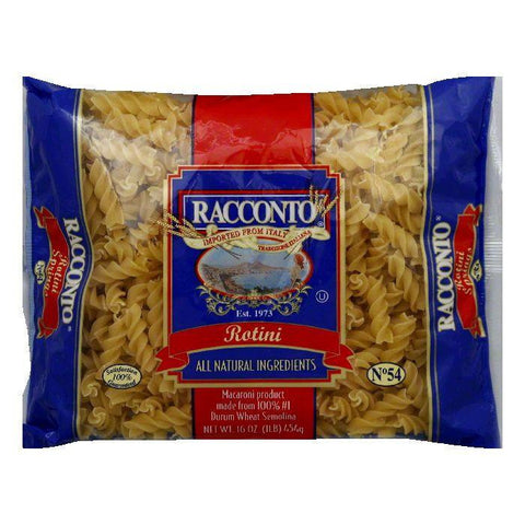 Racconto Rotini Springs, 16 OZ (Pack of 20)