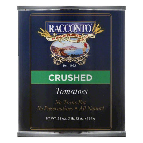 Racconto Tomatoes Crushed, 28 OZ (Pack of 12)