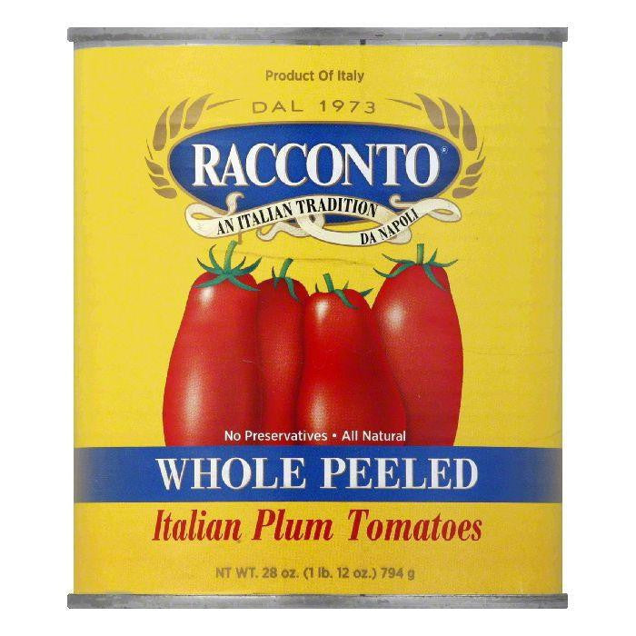 Racconto Tomatoes Imported San Marzana, 28 OZ (Pack of 12)