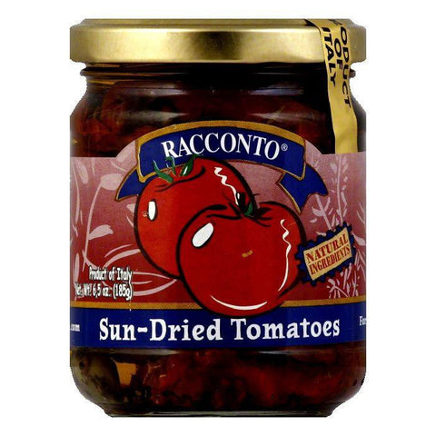 Racconto Imported Sun Dried Tomato Sauce, 6.5 OZ (Pack of 6)