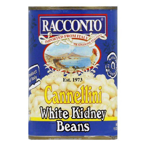Racconto Beans Canellini, 15 OZ (Pack of 6)