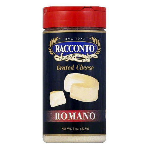 Racconto Cheese Shaker Romano, 8 OZ (Pack of 6)