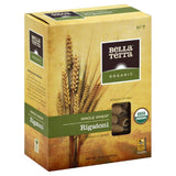 Bella Terra Organic No. 7 Whole Wheat Rigatoni, 12 Oz (Pack of 12)