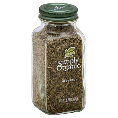 Simply Organic Oregano, 0.75 Oz (Pack of 6)