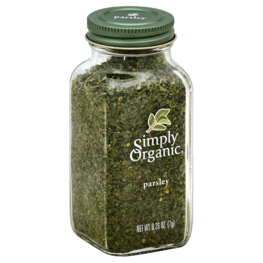 Simply Organic Parsley, 0.26 Oz (Pack of 6)