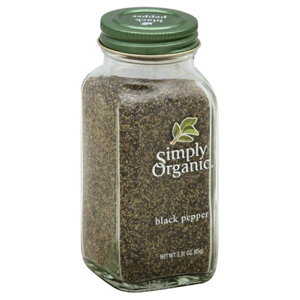 Simply Organic Black Pepper, 2.31 Oz (Pack of 6)