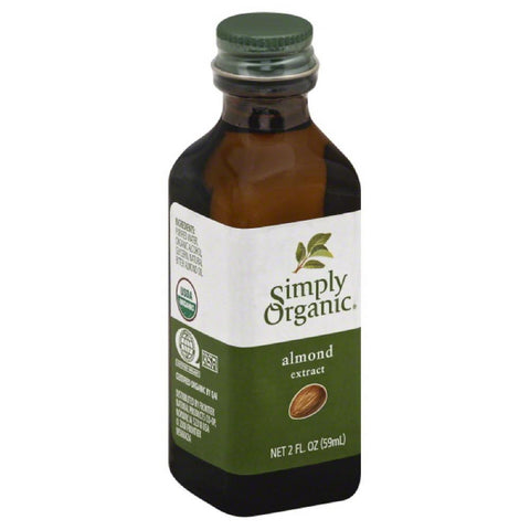 Simply Organic Almond Extract, 2 Oz (Pack of 6)
