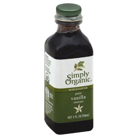 Simply Organic Madagascar Pure Vanilla Extract, 2 Oz (Pack of 6)