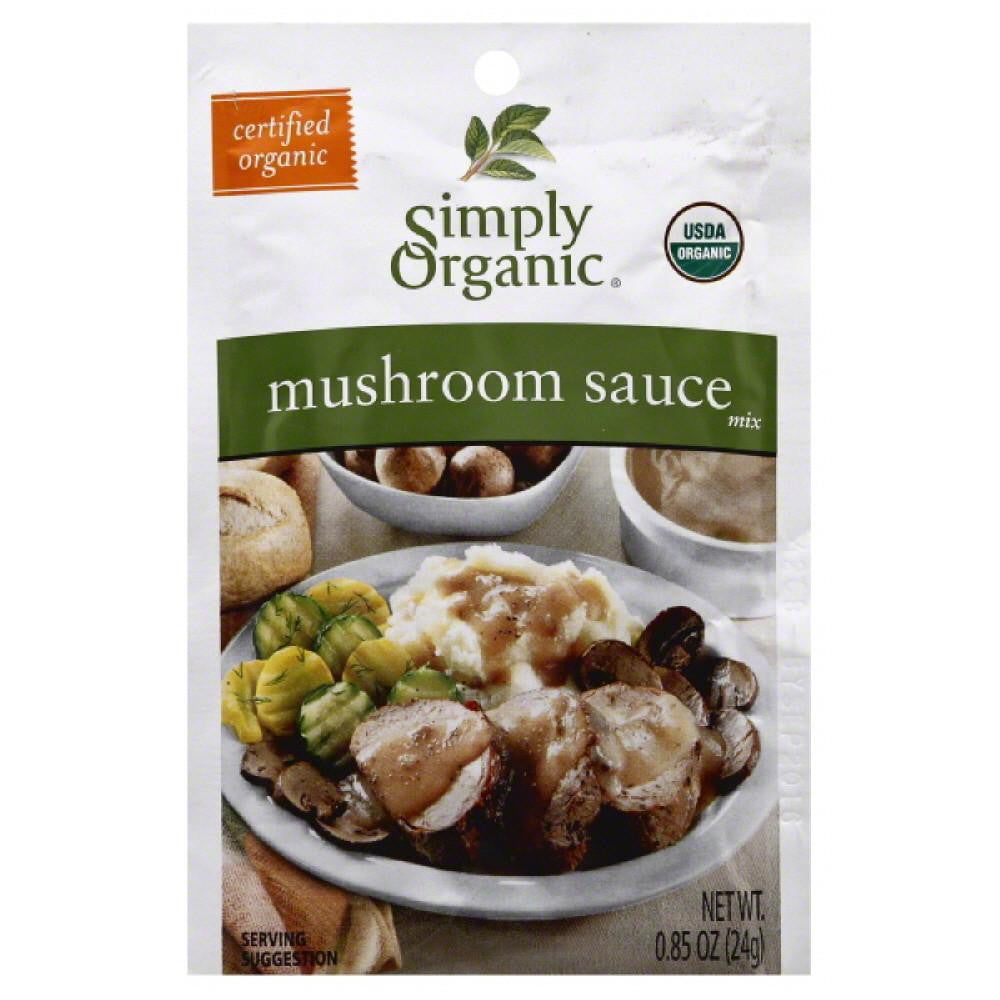 Simply Organic Mushroom Sauce Mix, 0.9 Oz (Pack of 12)