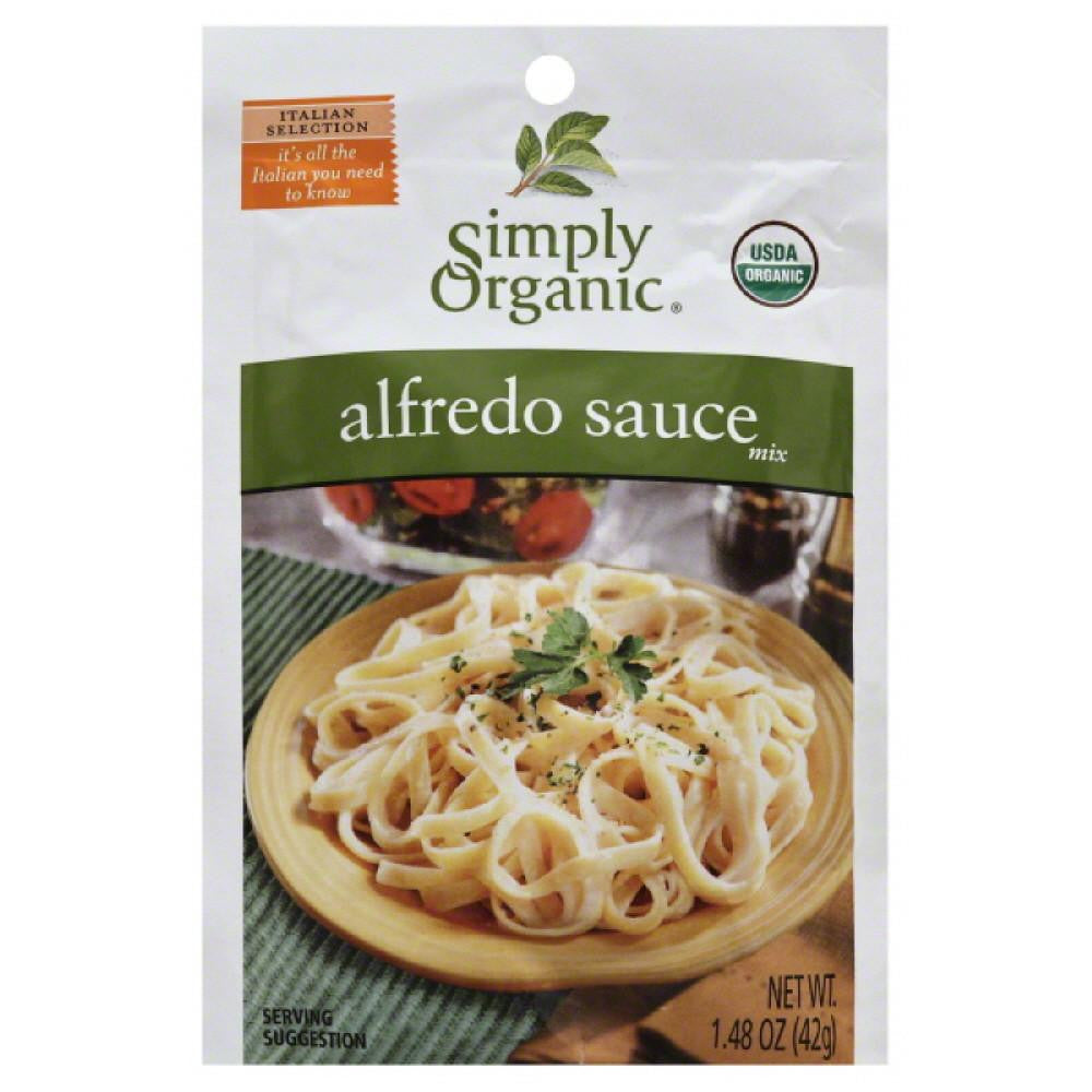 Simply Organic Alfredo Sauce Mix, 1.48 Oz (Pack of 12)