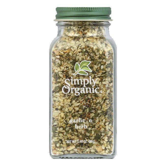 Simply Organic Garlic 'n Herb, 3.1 Oz (Pack of 6)