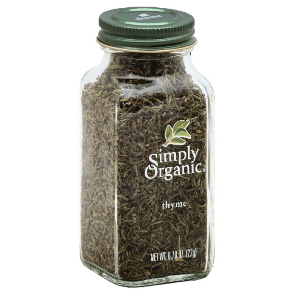 Simply Organic Thyme, 0.78 Oz (Pack of 6)