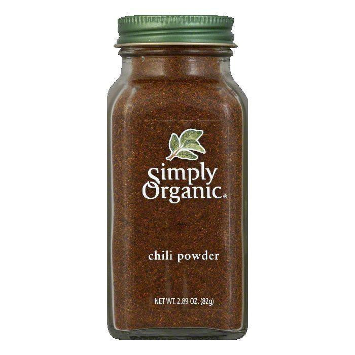 Simply Organic Chili Powder Organic, 2.89 OZ (Pack of 6)