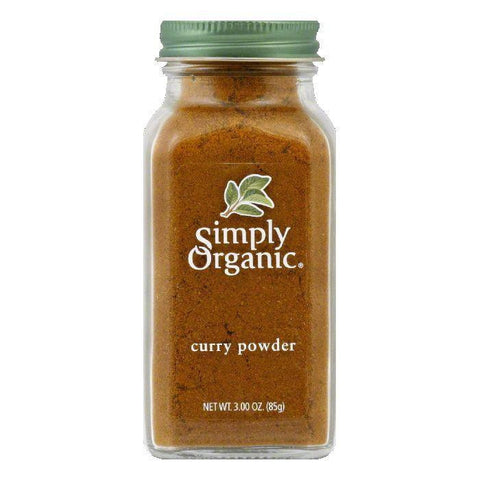 Simply Organic Curry Powder Organic, 3 OZ (Pack of 6)