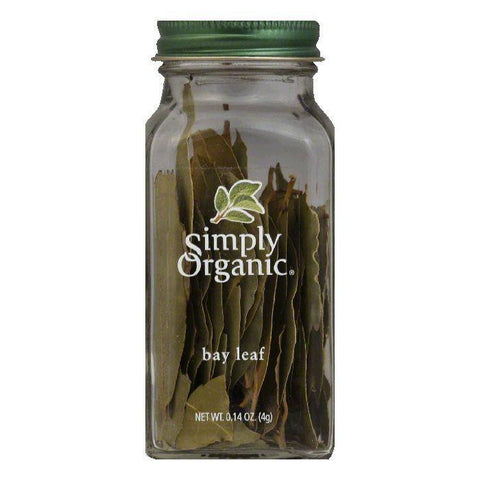 Simply Organic Bay Leaf Organic, 0.14 OZ (Pack of 6)