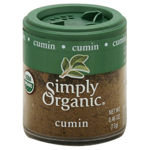 Simply Organic Cumin, 0.46 Oz (Pack of 6)