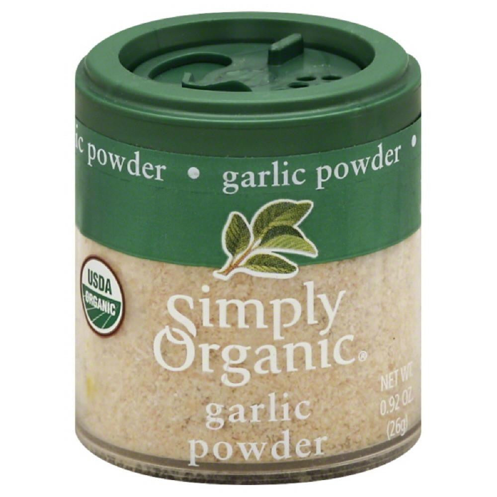 Simply Organic Garlic Powder, 0.92 Oz (Pack of 6)