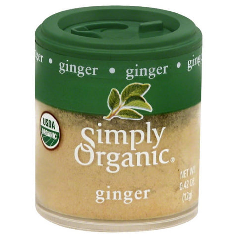 Simply Organic Ginger, 0.42 Oz (Pack of 6)