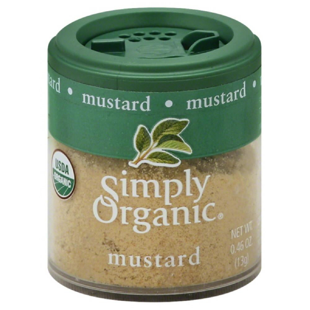 Simply Organic Mustard, 0.46 Oz (Pack of 6)