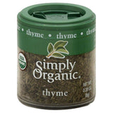 Simply Organic Thyme, 0.28 Oz (Pack of 6)