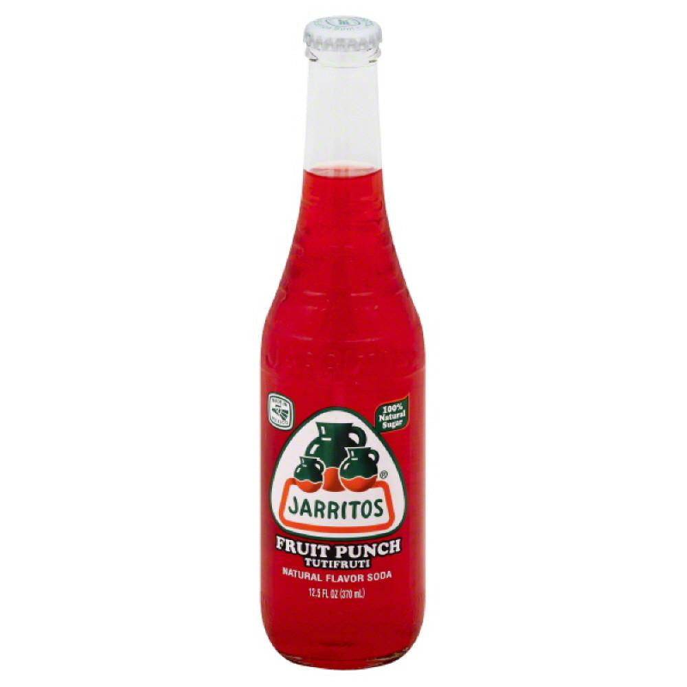 Jarritos Tutifruti Fruit Punch Soda, 12.5 Oz (Pack of 24)