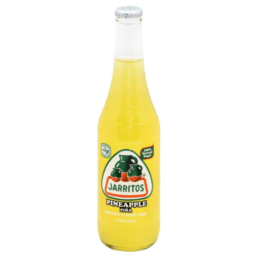 Jarritos Pineapple Soda, 12.5 Oz (Pack of 24)